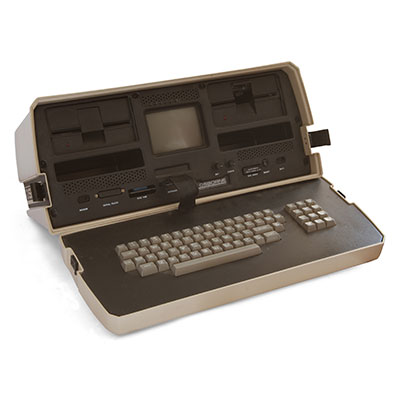 Osborne One 10.7 kg allegedly-portable computer