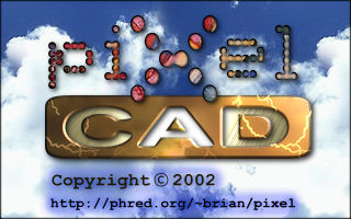 PixelCAD Splash Screen
