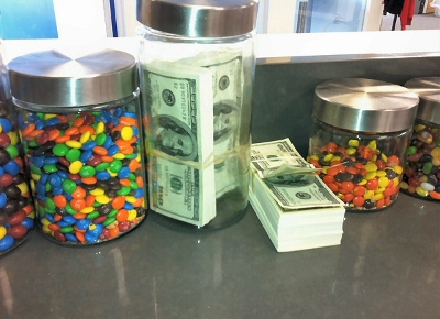 the StackOverflow snack jars
